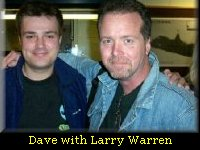 Cosmic Conspiracies webmaster Dave with Larry Warren