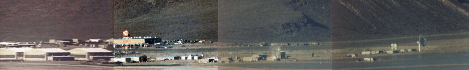 Panorama of a small part of Area 51
