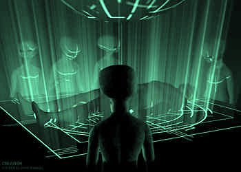 on board an UFO extraterrestrial abduction