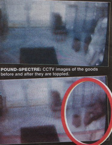 Ghost Captured on Stores CCTV?